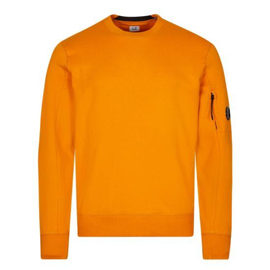 CP Company Logo Sweatshirt Fleece | Desert Sun