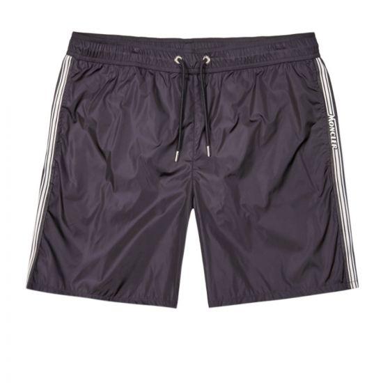 Moncler Swim Shorts Logo   2C710 00 53326 743 Navy   Aphrodite