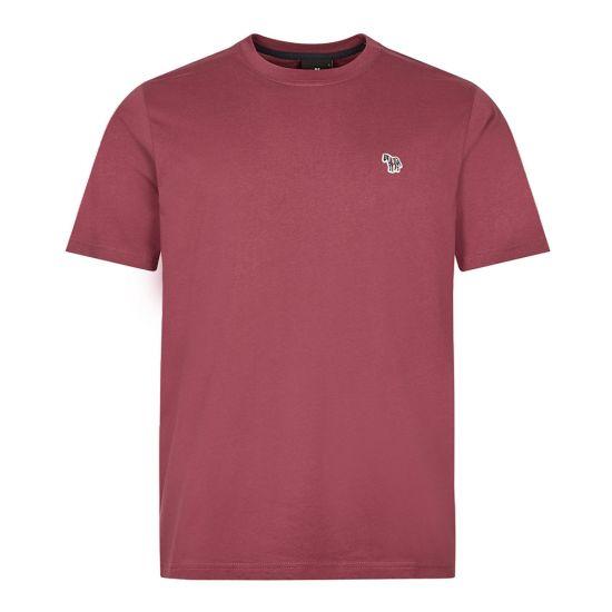 Paul Smith T-Shirt Zebra Logo | Maroon M2R 011RZ G20064 52A