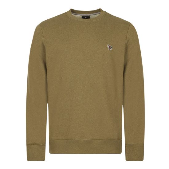 Paul Smith Sweatshirt, Zebra Logo, Olive, Aphrodite 1994
