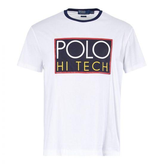 Ralph Lauren T Shirt Hi-Tech Logo 71071773 004 White
