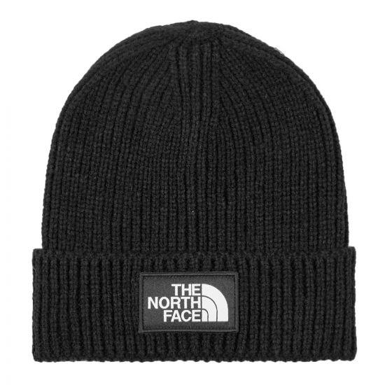 The North Face Beanie Logo   NF0A3FJXJK3 Black