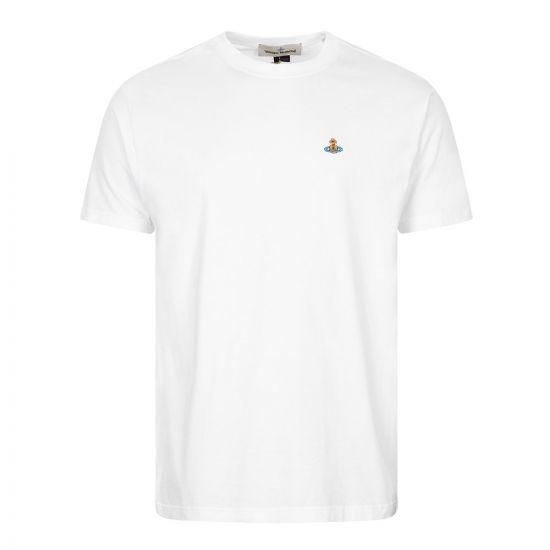 Vivienne Westwood Orb Logo T-Shirt | White