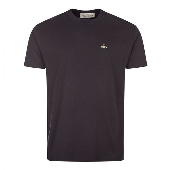 Vivienne Westwood Orb Logo T-Shirt | Black