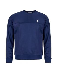 ami sweatshirt E19J010 741 410 navy / white