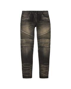 balmain jeans tapered RH15258D008 0PA black