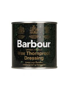 barbour wax thornproof dressing green uac0001