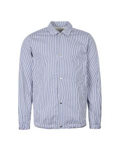 Comme des Garcons SHIRT Jacket Striped W27178 1 Blue / Navy / White