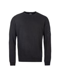 cp company sweatshirt lens MSS087A 002246G 999 black