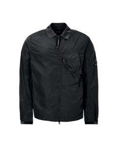 CP Company Zip Overshirt MOS145A 005148G 834 Black