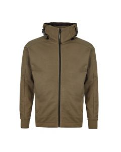 cp company goggle hoodie MSS076A 005086W 661 olive