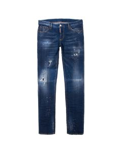 DSquared Jeans Slim Fit S74LB0524 S30342 470 Washed Blue