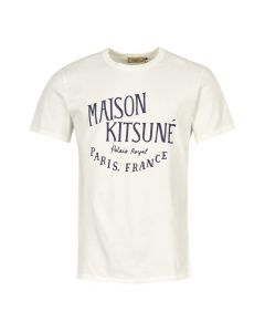 Maison Kitsune T-Shirt AM00100K J0008 LT White
