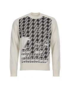 Maison Margiela Jumper S30HA0979-S16162-001J Off White/Black