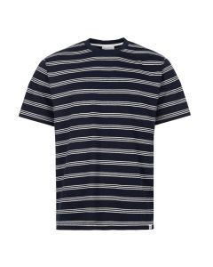 Norse Projects T-Shirt Johannes | N01 0457 7004 Dark Navy Stripe