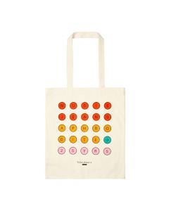 Nudie Jeans Tote Bag 25 Dots 190621 Natural