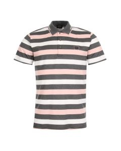 Paul & Shark Polo Shirt A18P1721SF 211 Grey / White / Peach