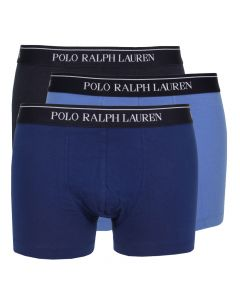 Ralph Lauren 3 Pack Boxers in Blue Denim 251U3TRK BSHC2 A4BDT