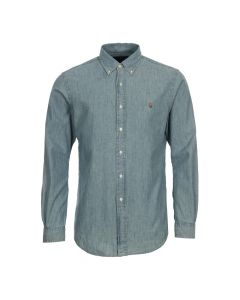 Ralph Lauren Shirt A04WSL3BC In Blue Chambray