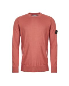 Stone Island Jumper 711524C4|V0013 In Salmon At Aphrodite Clothing