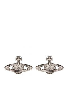 Vivienne Westwood Mini Bas Relief Earrings | 00190102 Silver