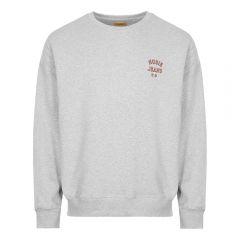 Nudie Jeans Frasse Logo Sweatshirt Grey Aphrodite 1994