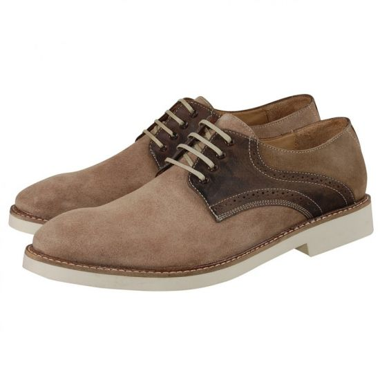 Hudson Shoes - Kanter Beige Suede