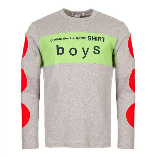 Comme des Garcons SHIRT BOYS T-Shirt   S27933 1 Grey