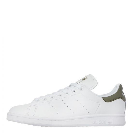 adidas Originals Stan Smith Trainers | White / Green EF4479 | Aphrodite