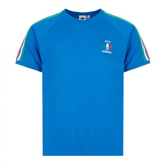 adidas Originals 3 Stripes T-Shirt | GP1921 Royal Blue Italia