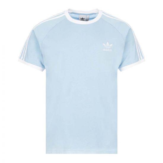 adidas 3 Stripes T-Shirt   FM3773 Blue