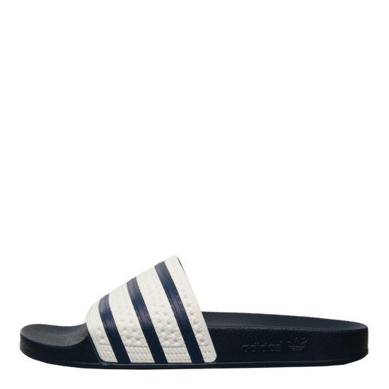 adidas Adilette Slide G16220 in Navy / White