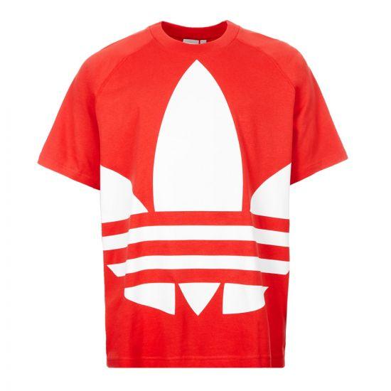 adidas T-Shirt - Red 21073CP -1