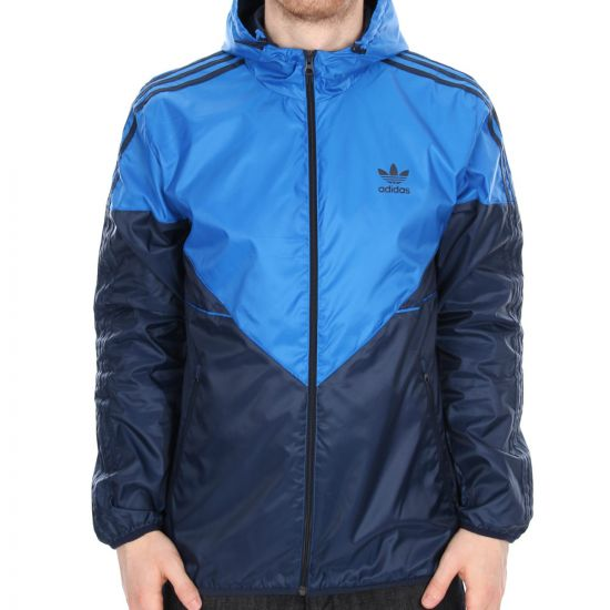 Adidas Originals Colorado Windbreaker in Bluebird & Collegiate Navy
