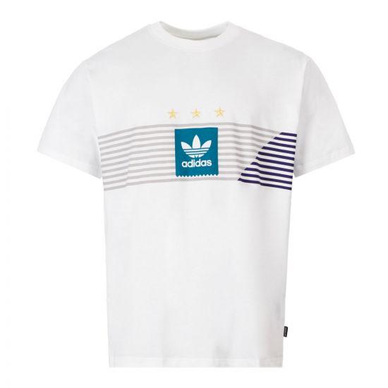 adidas Originals T-Shirt Campeonato   EC7351 White