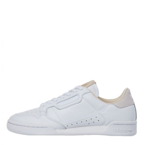 adidas Originals Continental 80 Trainers | EF2101 White