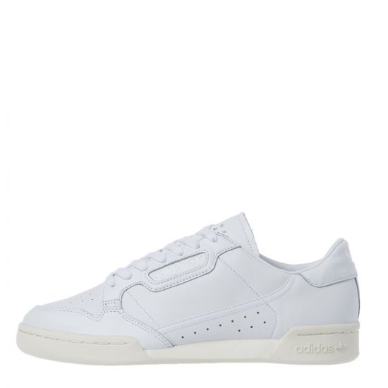 adidas Originals Continental 80 Trainers | EE6329 Triple White
