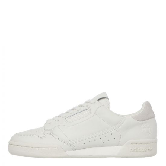 adidas Continental 80 Trainers – White 21161CP -1