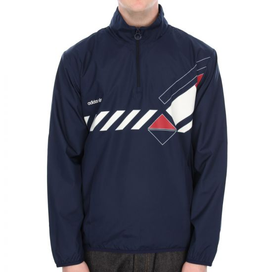 Adidas Originals Dominant Windbreaker in Navy