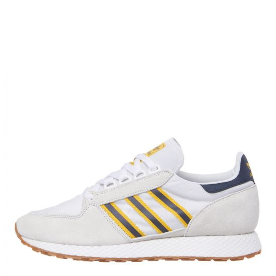 adidas Forest Grove Trainers DB3588 White / Navy / Gold