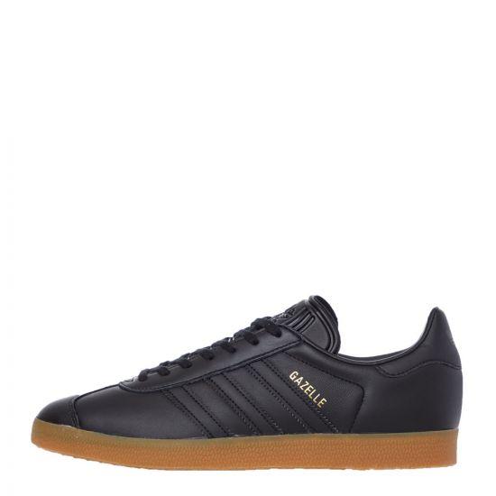 adidas Gazelle Trainers – Black 21160CP -1