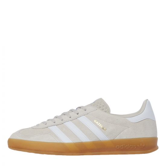 adidas gazelle indoor trainers EF5755 brown / white