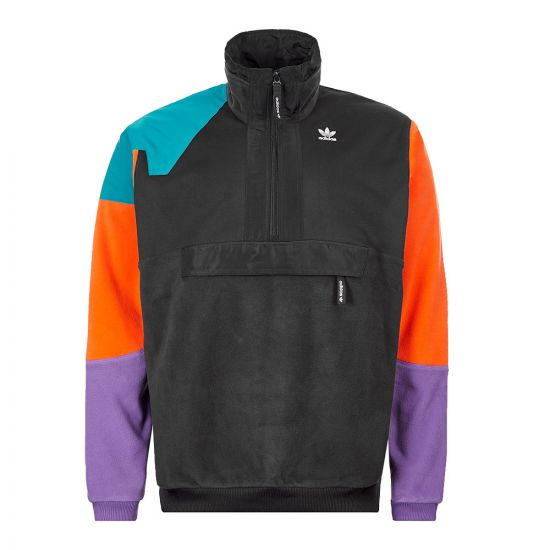 adidas Fleece Half Zip – Black  21072CP -1