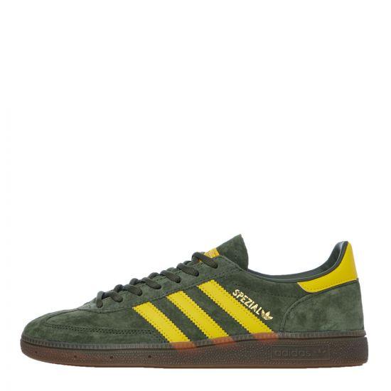 adidas Handball Spezial Trainers – Green / Yellow 21133CP -1