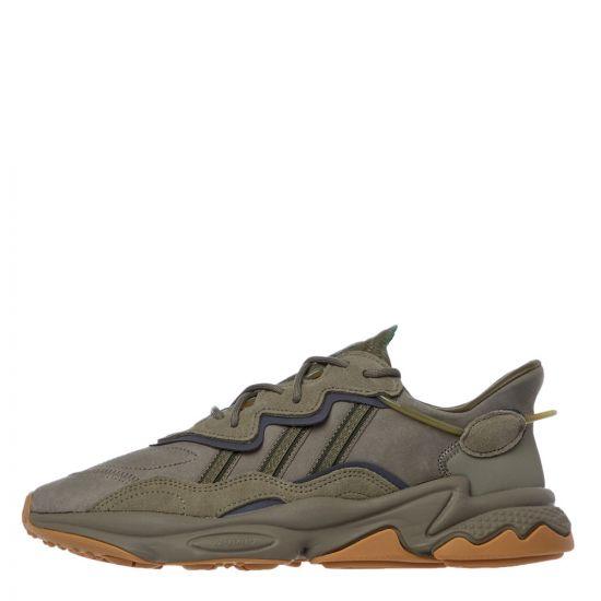 adidas Originals Ozweego Trainers | EE6461 Green