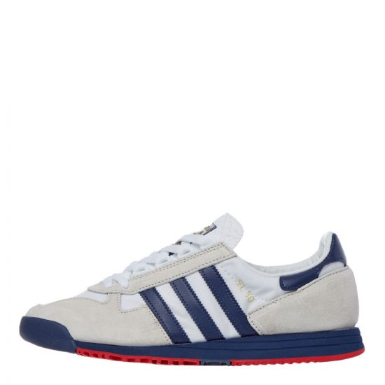 adidas SL 80 Trainers – White / Grey / Navy 21167CP -1