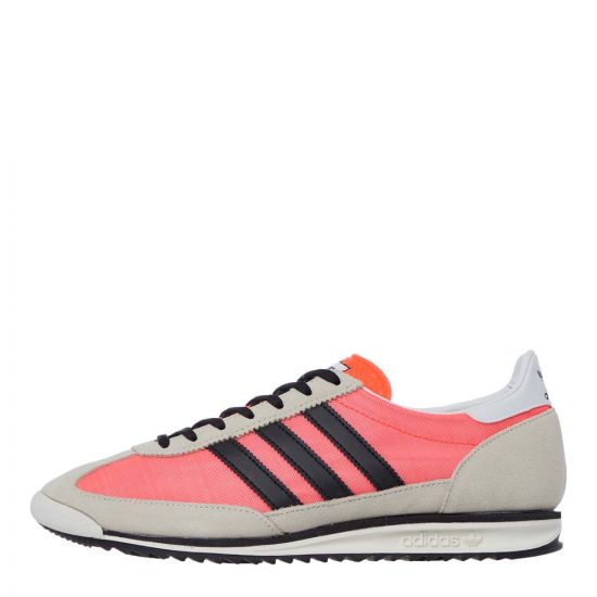 adidas SL 72 Trainers | FV9787 Red / Black / Beige