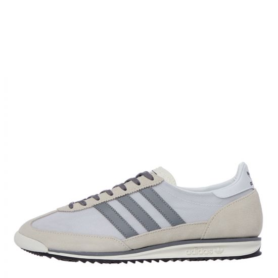 adidas sl 72 trainers FV9785 white heather
