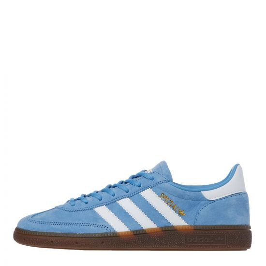 adidas Originals Handball Spezial Trainers   BD7632 Light Blue / White