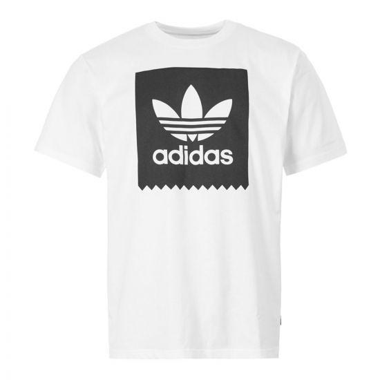 adidas T-Shirt | EC7363 White / Black